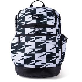 speedo Teamster 2.0 Backpack 35l, zwart/wit